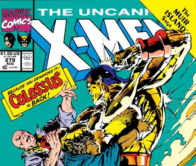 Uncanny X-Men (1963) #279 Cover