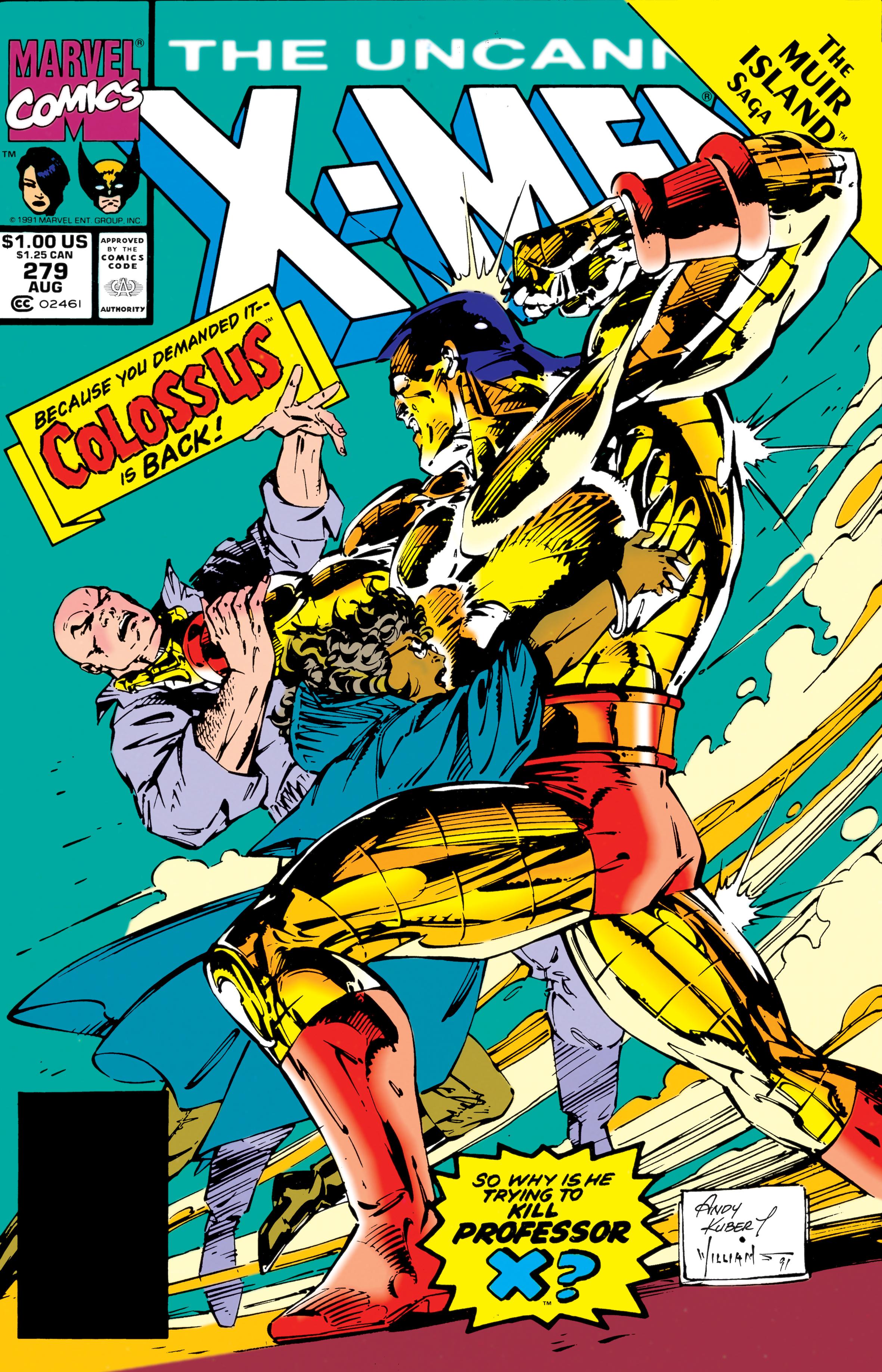 Uncanny X-Men (1963) #279