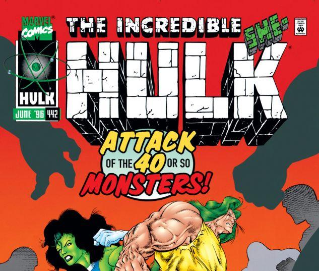 Incredible Hulk (1962) #442 Cover