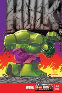 Indestructible Hulk (2012) #14 (Castellani Lego Variant)