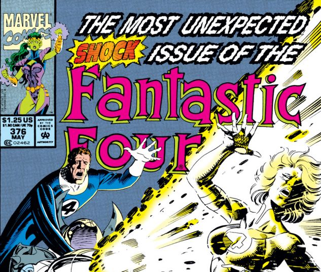 Fantastic Four (1961) #376 Cover