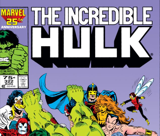 Incredible Hulk (1962) #322 Cover