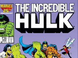 Incredible Hulk (1962) #322 Cover