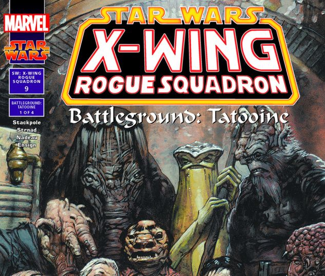 Star Wars: X-Wing Rogue Squadron (1995) #9