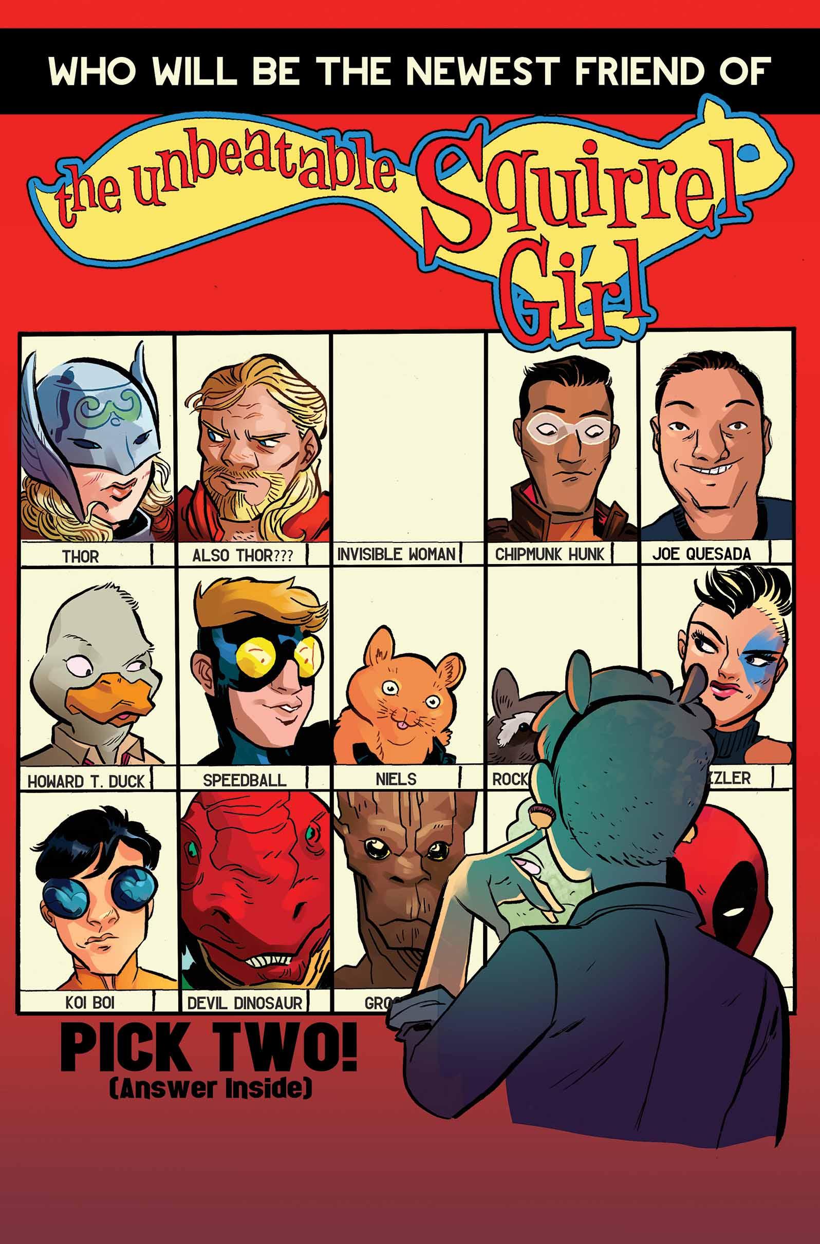 The Unbeatable Squirrel Girl (2015) #6