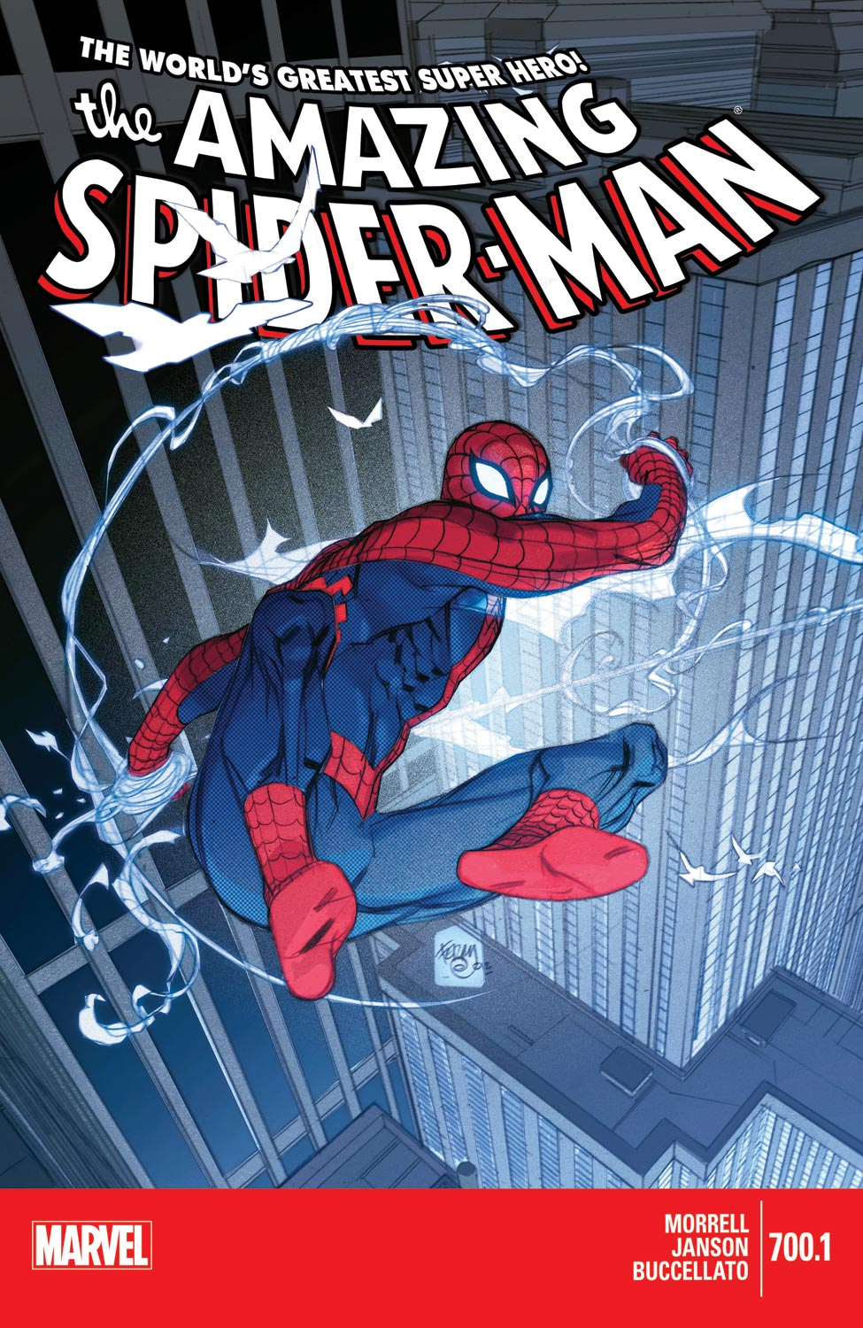 Amazing Spider-Man (1999) #700.1
