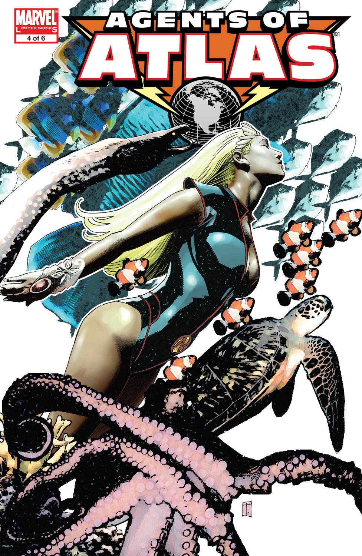Agents of Atlas (2006) #4
