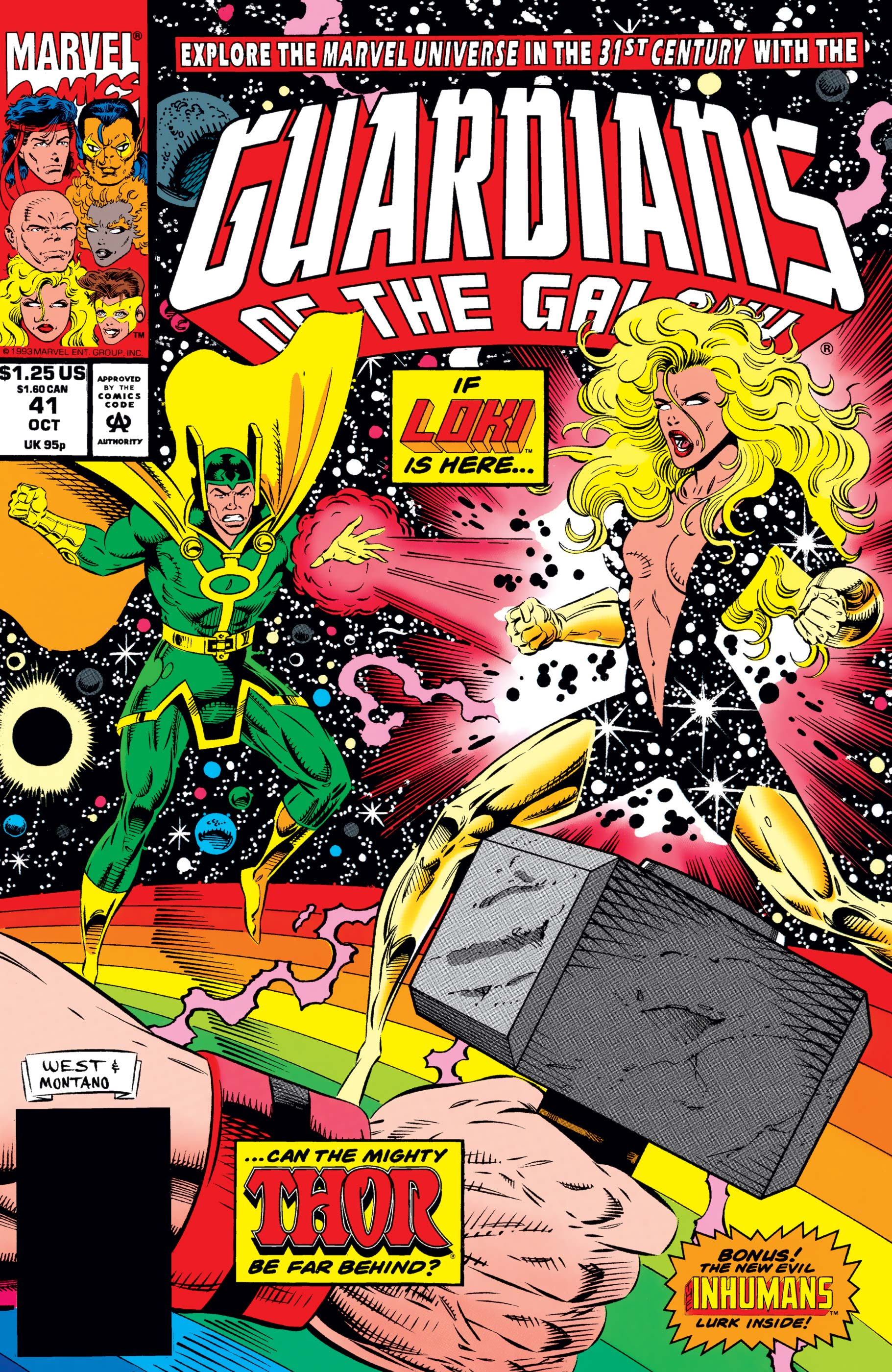 Guardians of the Galaxy (1990) #41
