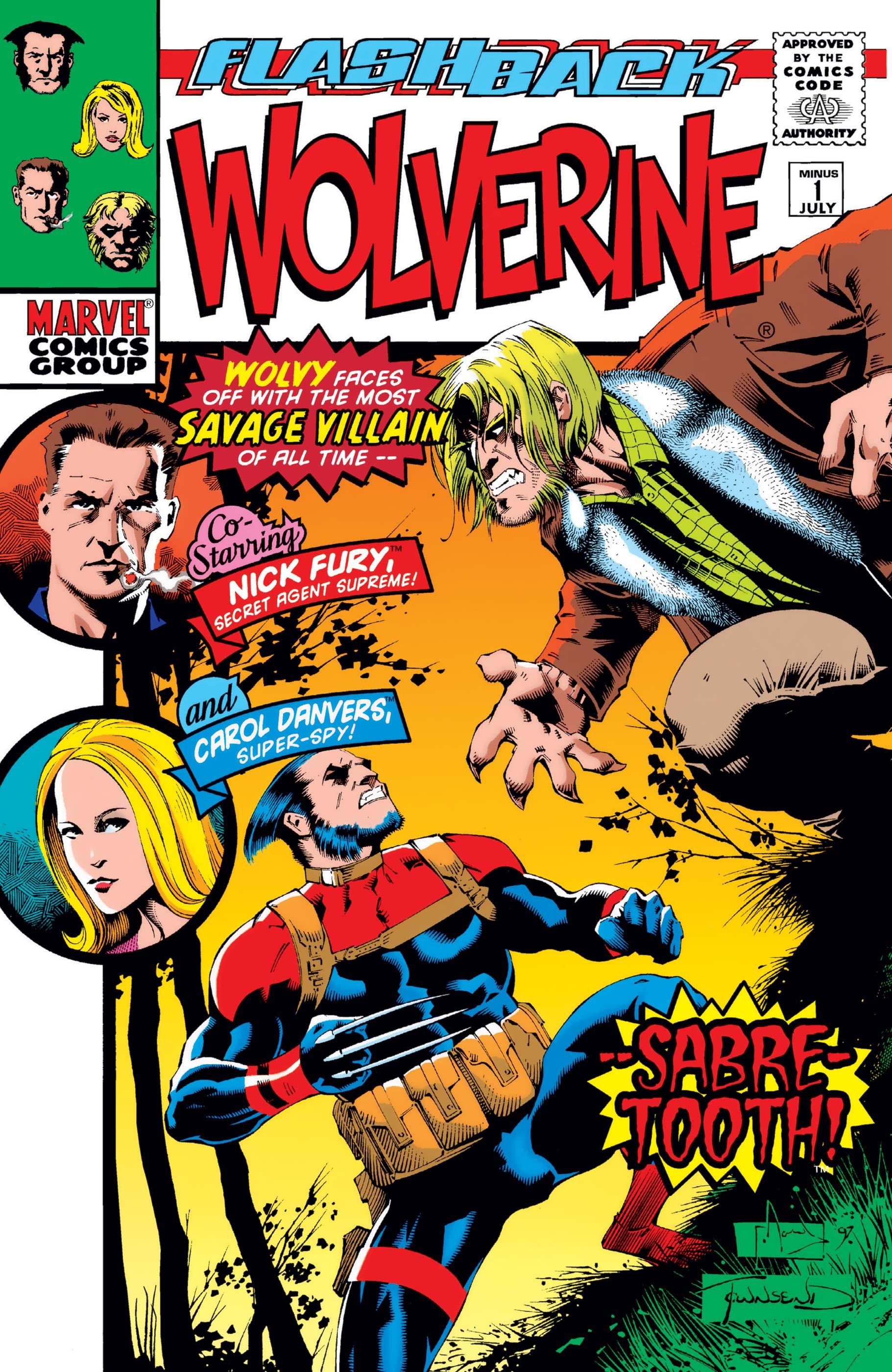 Wolverine (1988) #-1