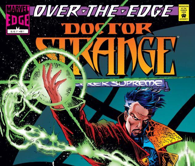 Cover for DOCTOR STRANGE, SORCERER SUPREME #81