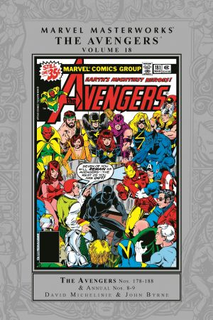 Marvel Masterworks: The Avengers Vol. 18 (Hardcover)