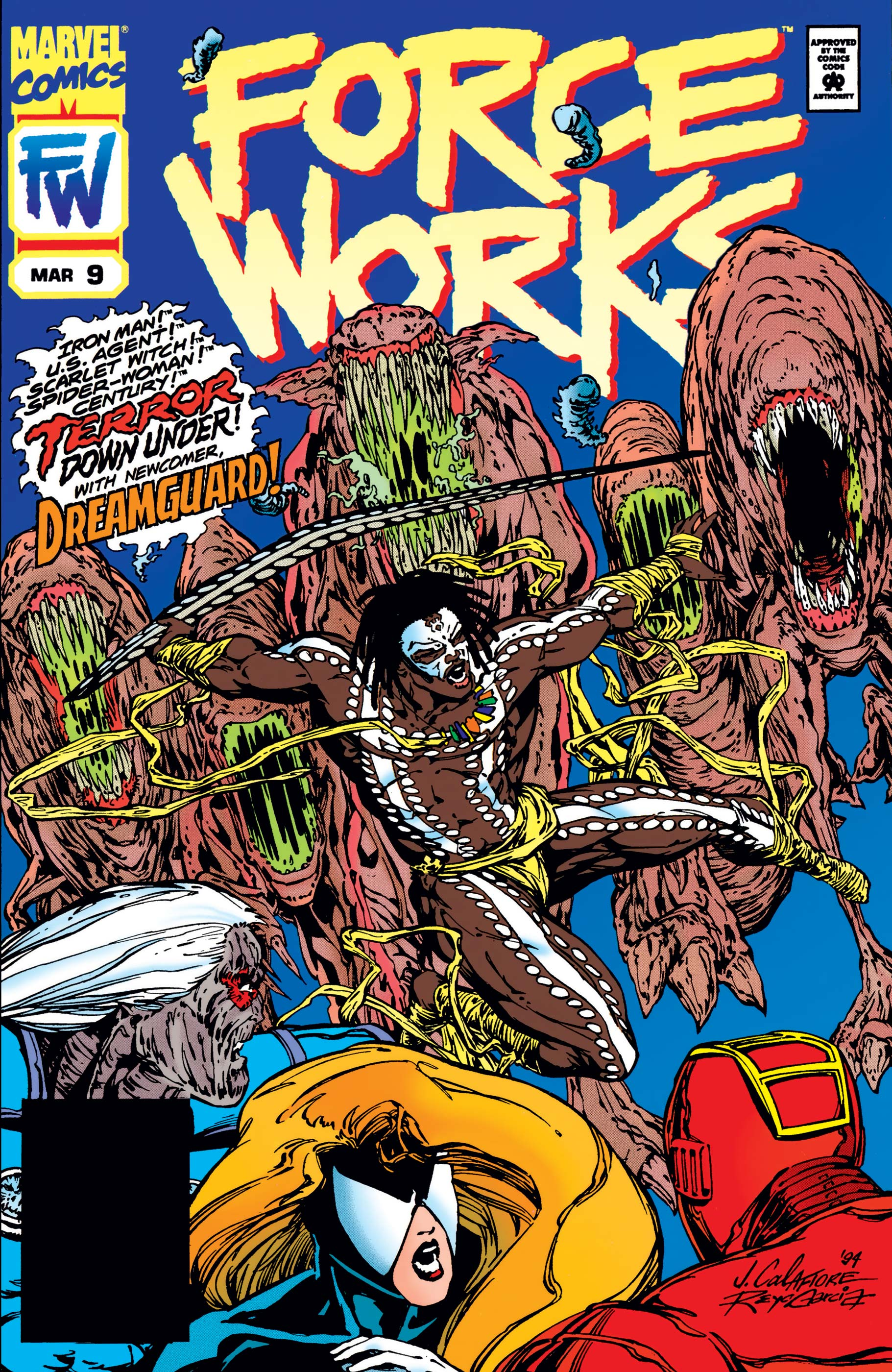 Force Works (1994) #9