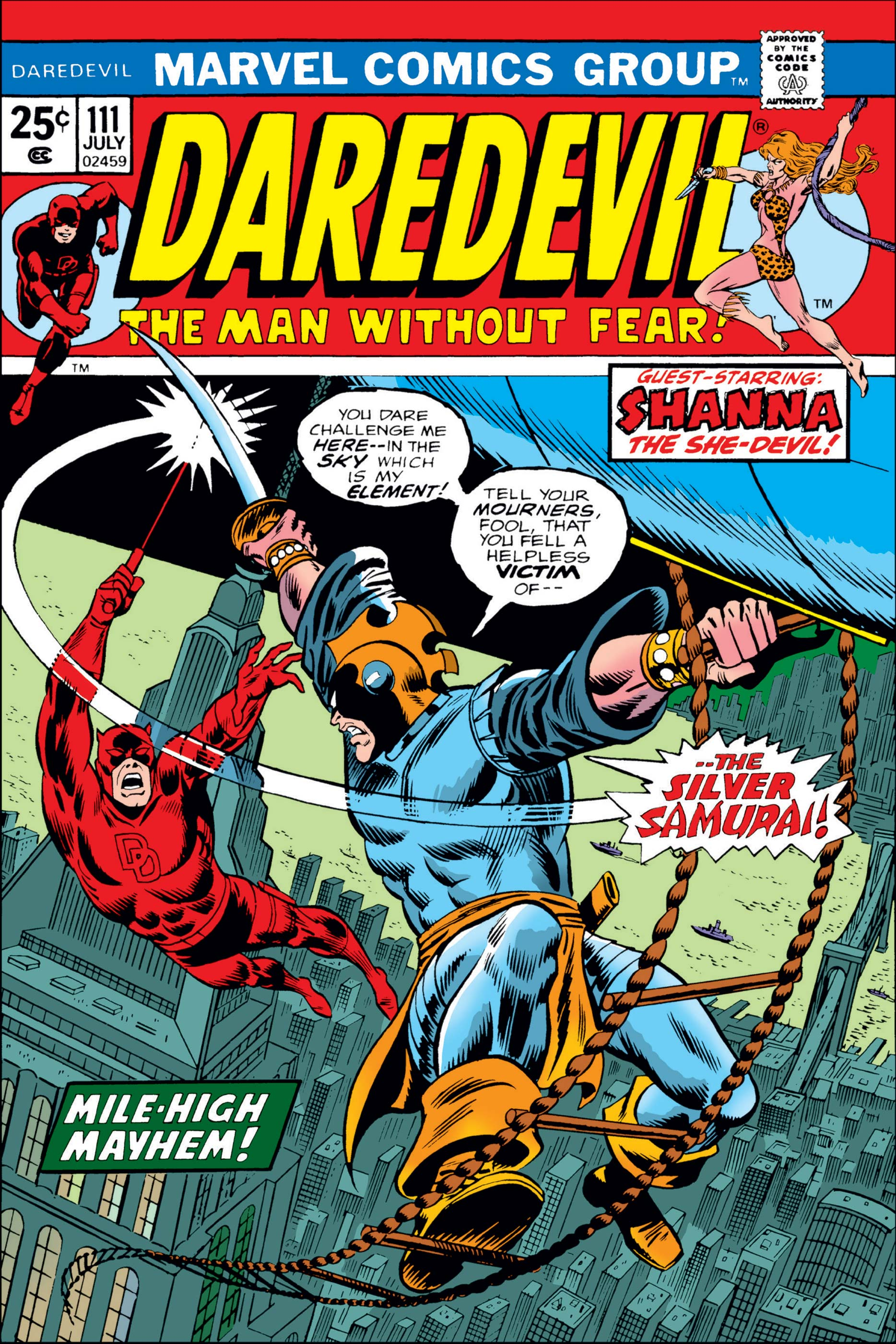 Daredevil (1964) #111