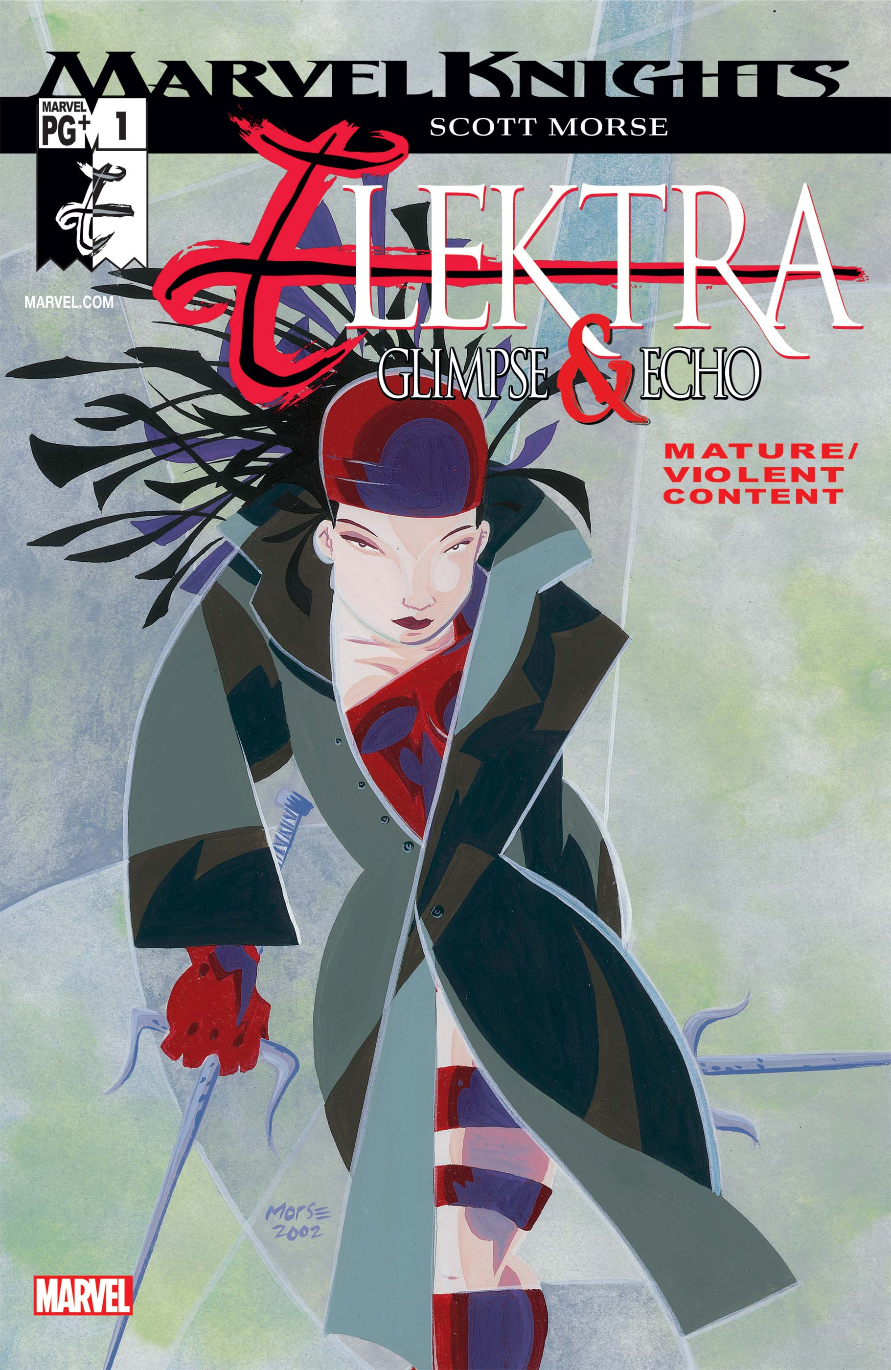 Elektra: Glimpse and Echo (2002) #1