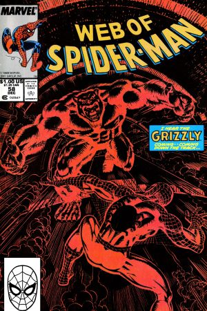 Web of Spider-Man (1985) #58
