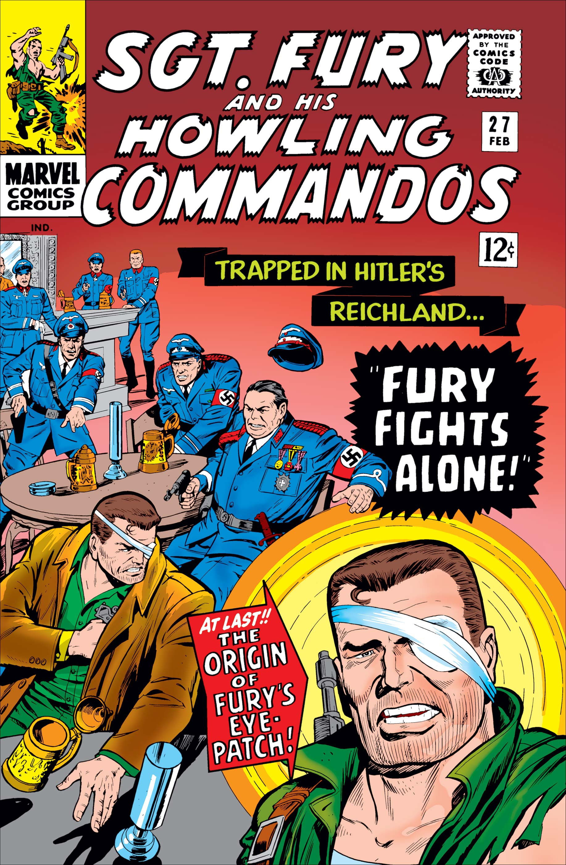 Sgt. Fury (1963) #27