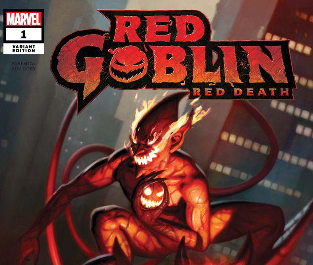 RED GOBLIN: RED DEATH 1 BROWN VARIANT #1