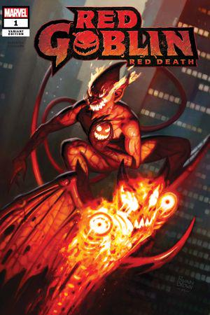 Red Goblin Red Death 1 Chris Daughtry Garney WRAPAROUND Variant cover NM IN HAND