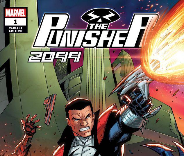THE PUNISHER 2099 1 RON LIM VARIANT #1