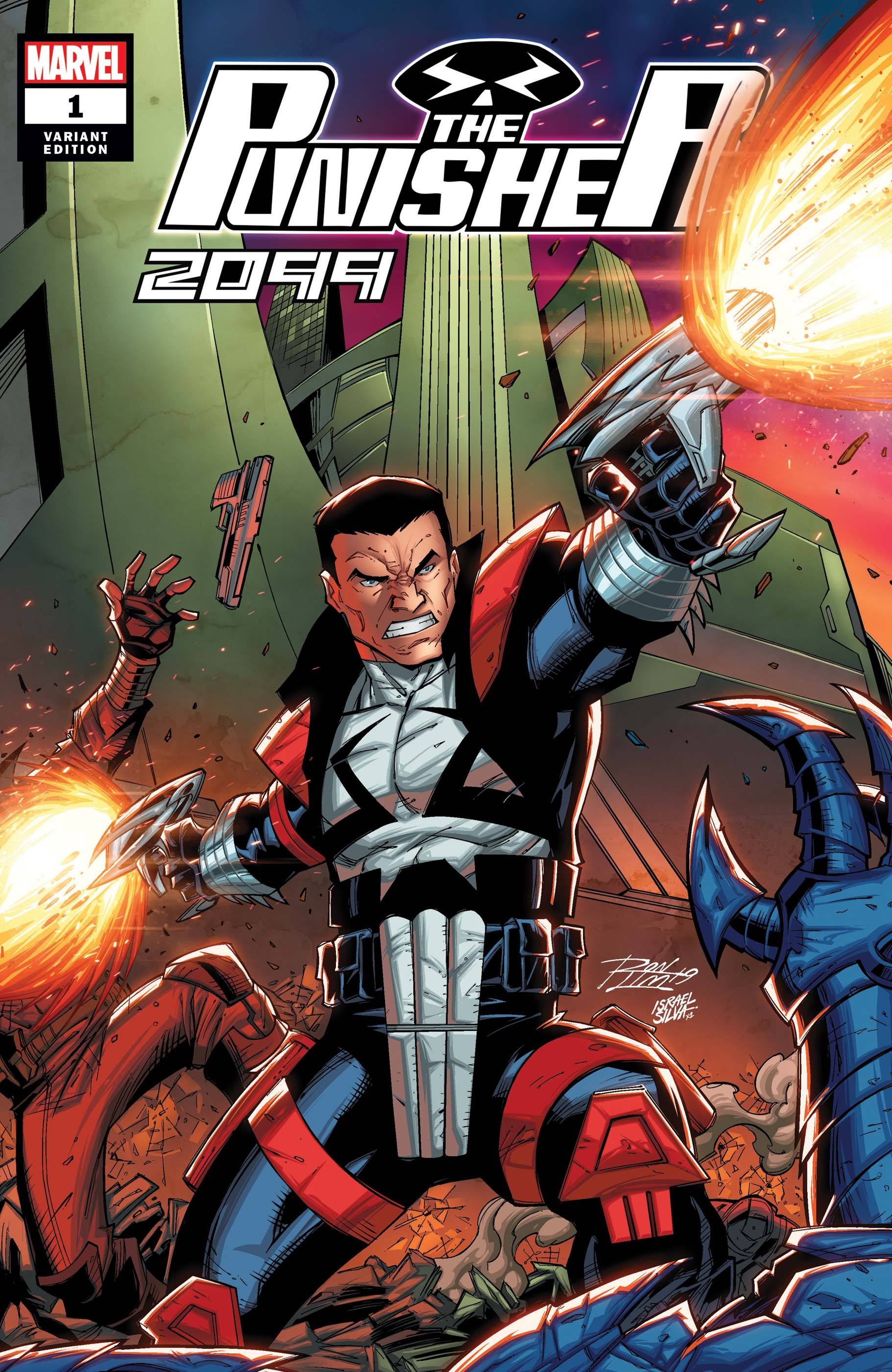 The Punisher 2099 (2019) #1 (Variant)