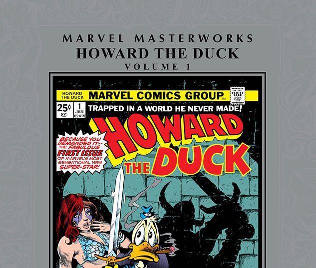 MARVEL MASTERWORKS: HOWARD THE DUCK VOL. 1 HC #1