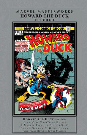 Howard The Duck Masterworks Vol. 1 (Hardcover)