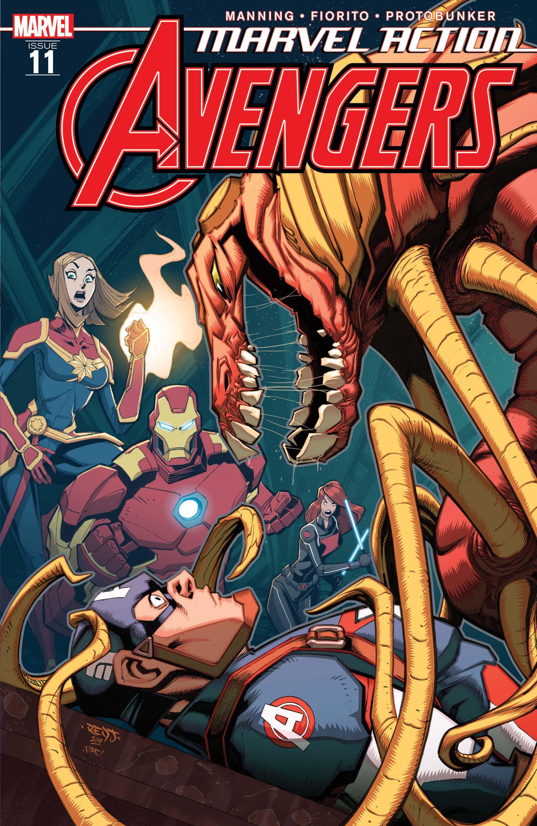 Marvel Action Avengers (2018) #11