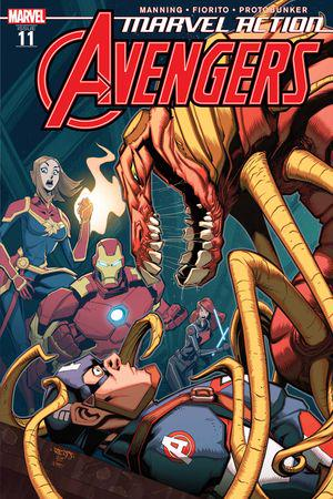 Marvel Action Avengers #11