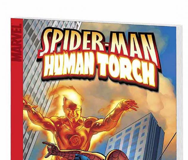 SPIDER-MAN/HUMAN TORCH: I'M WITH STUPID COVER