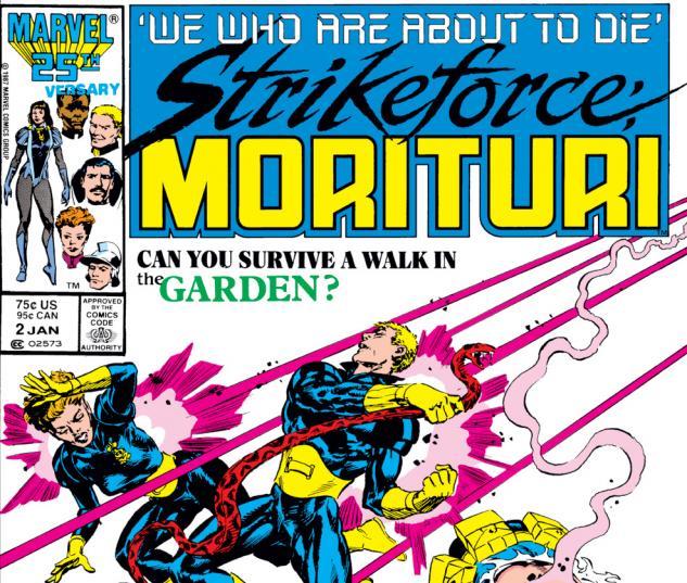 Strikeforce: Morituri #2 (1986)