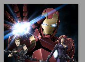 Iron Man: Rise of the Technovore Key Art
