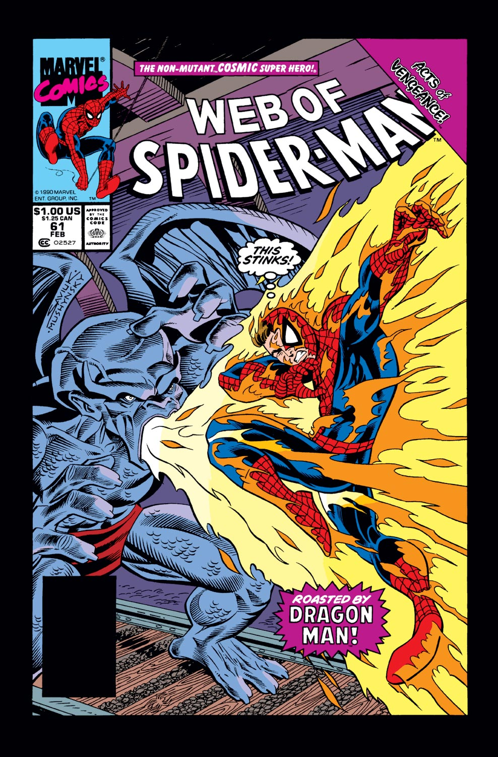 Web of Spider-Man (1985) #61