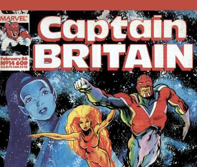 Captain Britain (1985) #14 Cover