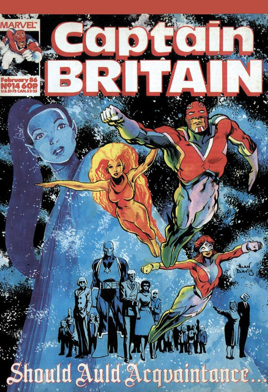 Captain Britain (1985) #14