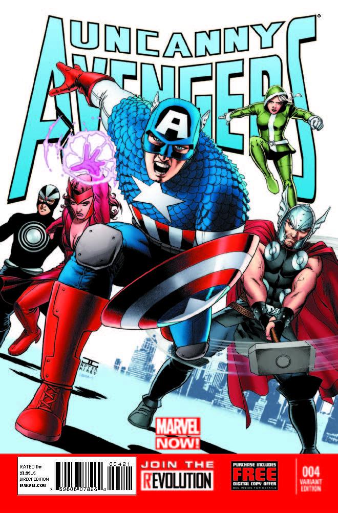 Uncanny Avengers (2012) #4 (Cassaday Variant)