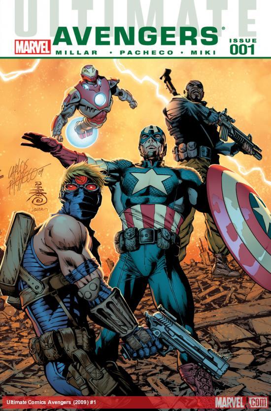 Ultimate Avengers (2009) #1