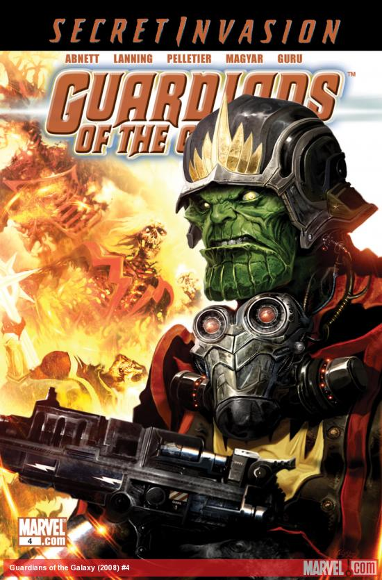 Guardians of the Galaxy (2008) #4