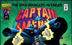 Captain America (1968) #439 Cover