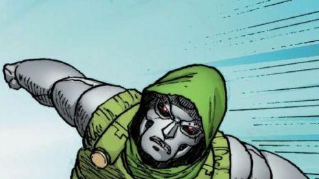Marvel AR: Doom Bot and Doctor Doom