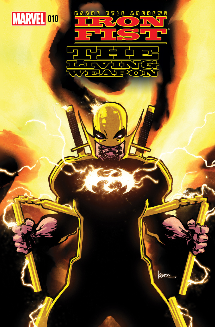 Iron Fist: The Living Weapon (2014) #10