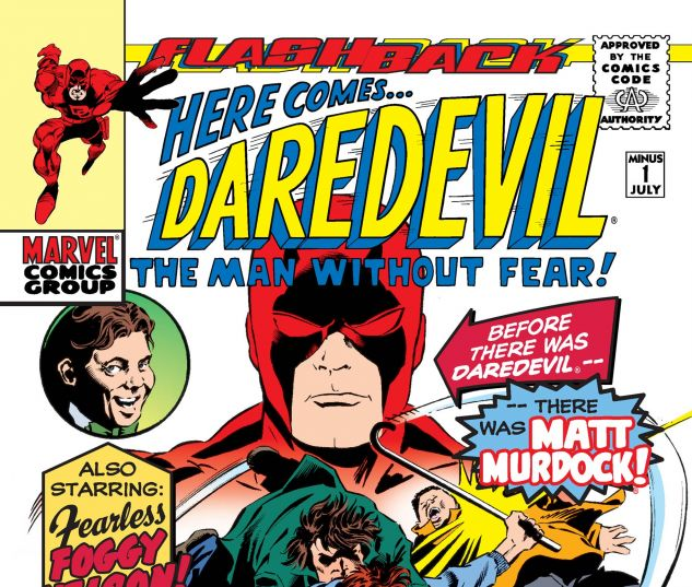 cover to Daredevil (1964) #-1