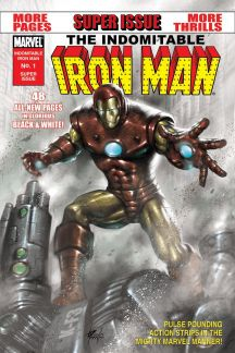 Indomitable Iron Man Black and White #1
