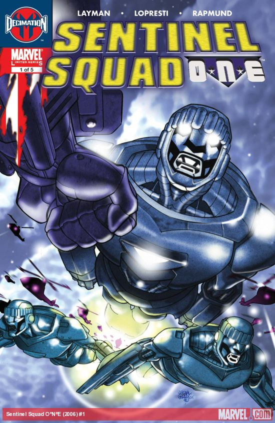 Sentinel Squad O*N*E (2006) #1