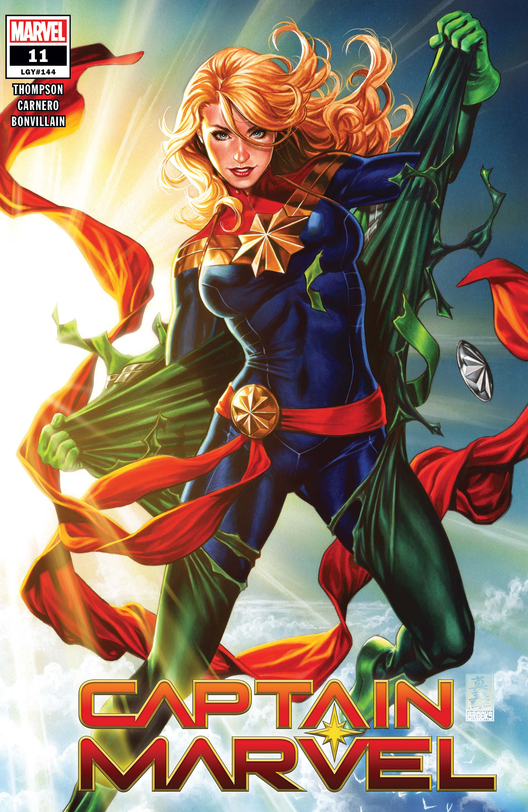 Captain Marvel (2019) #11 (Variant)