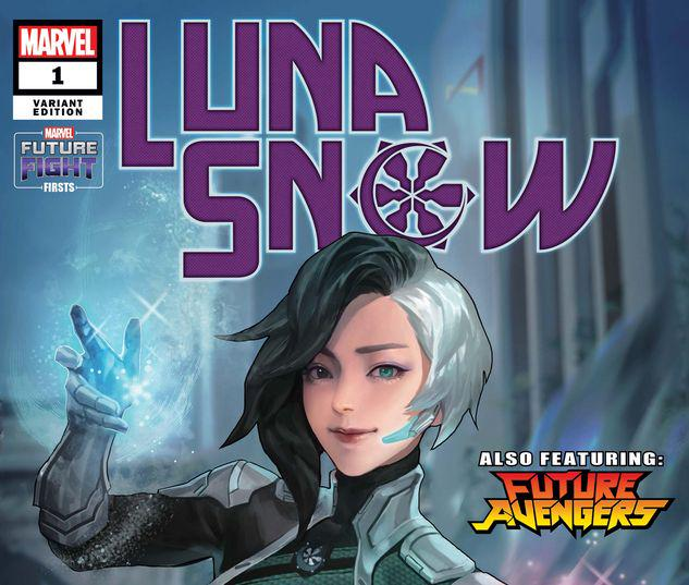 FUTURE FIGHT FIRSTS: LUNA SNOW 1 COAX VARIANT #1