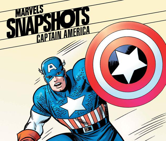 CAPTAIN AMERICA: MARVELS SNAPSHOTS 1 JACK KIRBY HIDDEN GEM VARIANT #1