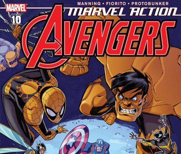 Marvel Action Avengers #10
