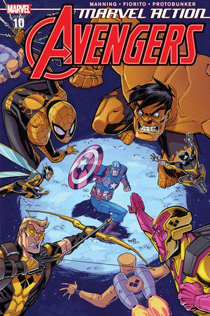 Marvel Action Avengers (2018) #10