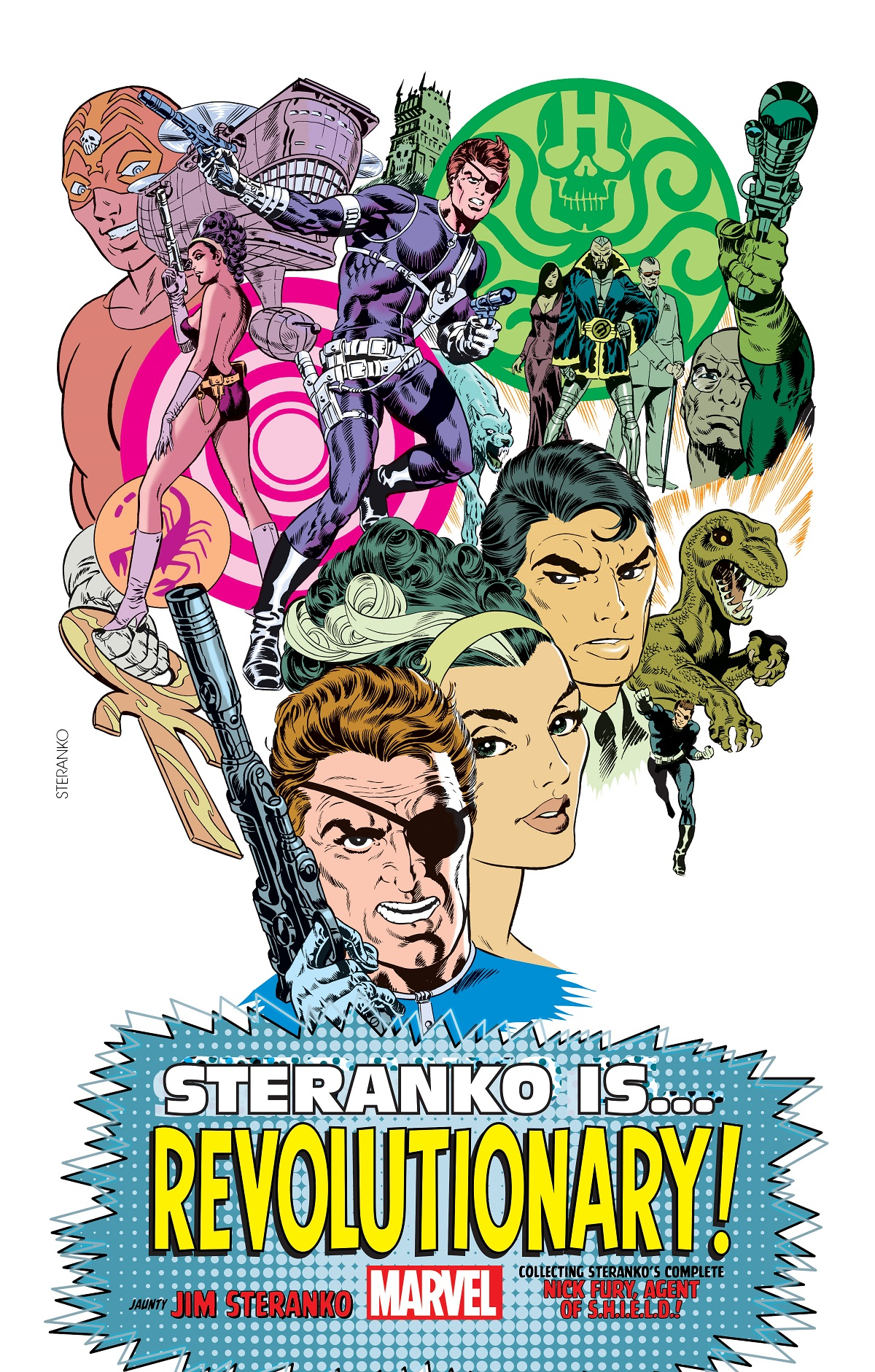 Steranko Is… Revolutionary!  (Hardcover)