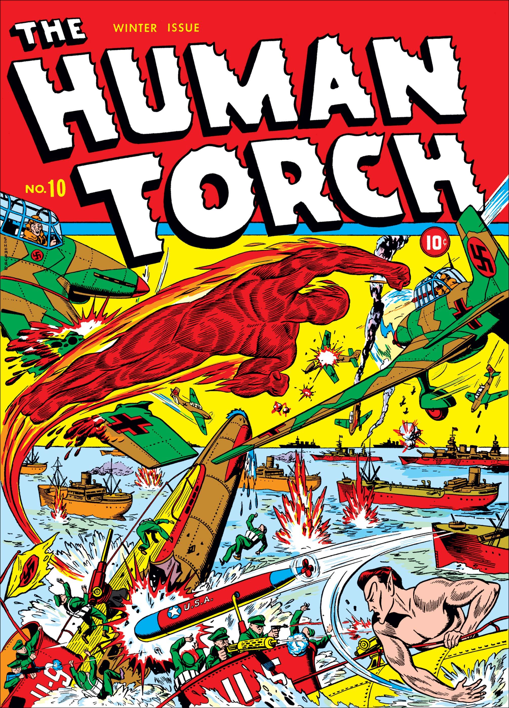 Human Torch Comics (1940) #10
